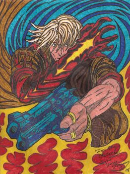 Sharpie Nero Devil may cry 4 by Tommyb345