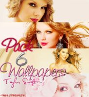 Pack 6 Wallpapers Taylor Swift by MyDilemmaGomez