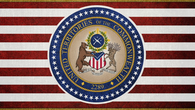 FALLOUT: Governmental Flag of the UTC by okiir