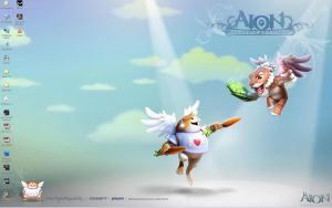 aion online cute wallpaper by AijiS
