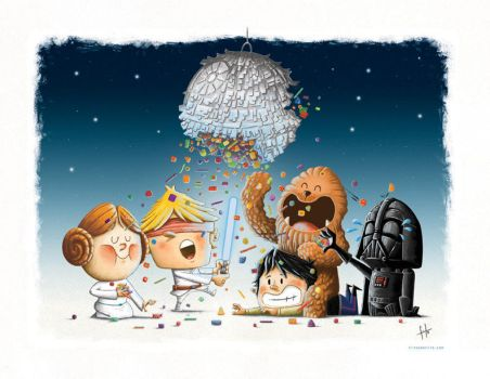 Star wars Pinata by Fitografito