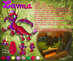 2011 Lavma reference by CartoonSilverFox
