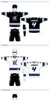 Tampa Bay Lightning Uniforms by matthiason