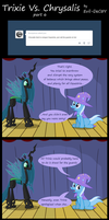 Trixie Vs. Chrysalis (part 6) by Evil-DeC0Y