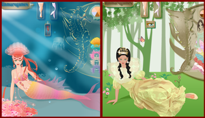 Mermaid Princess dress up game by Pichichama