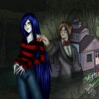 Adventure Time: Marceline and Simon by StupidLesson