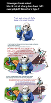 Undertale ask blog: storytime by JimPAVLICA