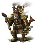 Steampunk dwarf by Mike-Sass