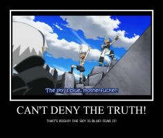 You cannot deny the truth by Aznkid671