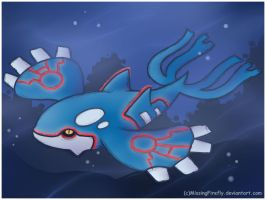 Kyogre~ by MissingFirefly