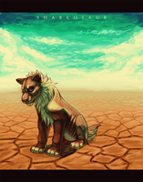 The desert is a lonely place by Sharkosaur