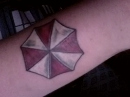 New tattoo~! by Rayne-UmbrellaCorps