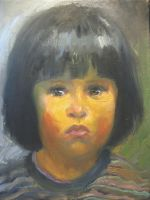 Missing Child Portrait 21 by johnpaulthornton