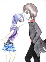 Raven and RedX by d-trt-b