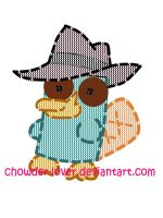 Perry plush in stores now XD by chowder-lover