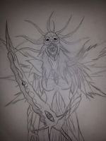 Chaos Warlord : Lyn Blackheart Chaos form by Jade-Queen-Of-Souls
