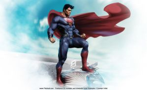 Superman 2013 Patok Original 3227 x 1969 by patokali