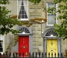 Irish doors by Buble