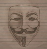 Guy Fawkes Mask by SEAallen