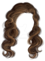 Wavy hair by Trisste-stock-moved