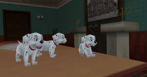 MMD Newcomer Dalmation Puppy + DL by Valforwing