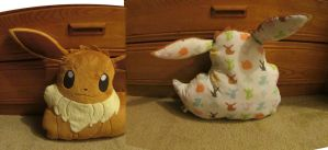 Eevee Pillow Plush by ShortSage