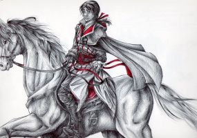 Ezio - Come on... by SixthIllusion