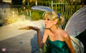 Blowing some pixie dust by Tazziecosplay