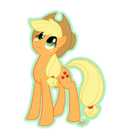 MLP: AppleJack by DinKelion
