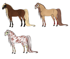 Lacework-Stables Skullequines by TalonV
