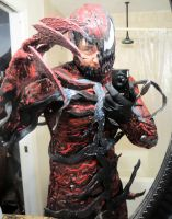NEW HALFMASK CARNAGE COSPLAY COMPLETED by symbiote-x