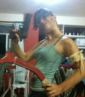 Tomb Raider cosplay 90% done by i-spangler