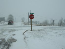 Snowstorm in Iowa by pixiekist-stock