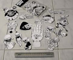 heARTwork sticker pack series 2 by azridjokoloro