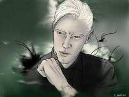 Draco's Portrait by kwhelan