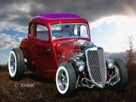 Ford Coupe 1933-2 by orionshope