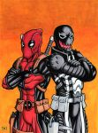 Deadpool Venom Commission by TheRigger