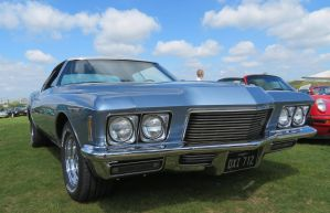 Buick ,Rivera ,Duxford spring car show, by Sceptre63
