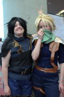 Zack and Cloud by ShadowYazoo