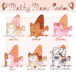melty meows flat price + raffle end (1/6 open) by healingpotions