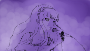 Sheryl Nome sketch by feelthispen