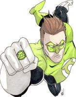 Green Lantern by nathanobrien