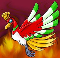 Ho-oh Flames by Articuno