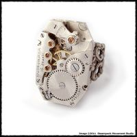 Retro Industrial Ring 1 by SoulCatcher06