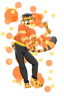 Color Creatures Orin Orange by Shirobutterfly