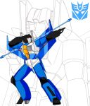 Thundercracker G1 salute by Jee-Youn-Lim