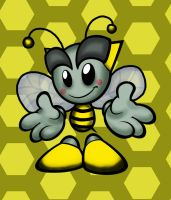 Bumble Bee Fella by Skeletal-Guide