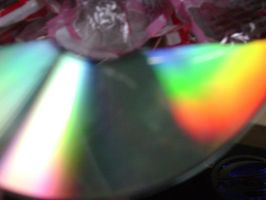 Compact Disc Aurorae 3 by EchoSwiftpaws