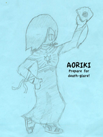 Aoriki drawing by ShadowStarry