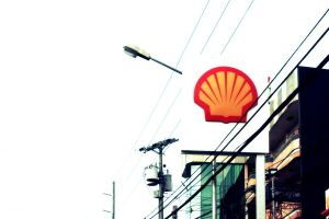 Shell gas station by sariahlds